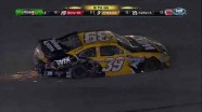 Ryan Newman and Kurt Busch Wreck - Bojangles' Southern 500 - Darlington 2012