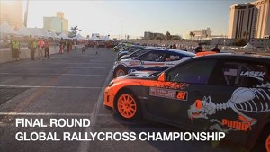 Subaru PUMA Rallycross Team race to the finals at GRC SEMA Las Vegas