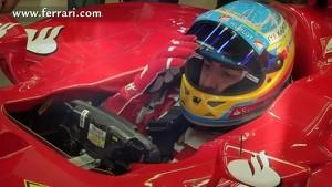 Scuderia Ferrari - Der GP von Australien - Alonso zeigt die Strecke