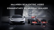 McLaren Scalextric Race (commentary by Murray Walker)