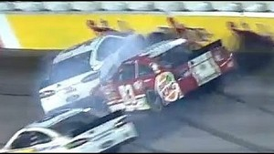 Wise spins out and hits Reutimann