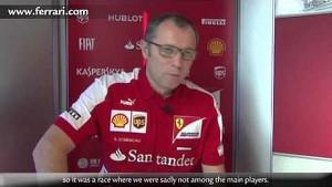 Monaco Grand Prix - Stefano Domenicali, about race