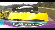 Travis Pastrana Hits Trevor Bayne | Johnsonville Sausage 200, Road America 2013