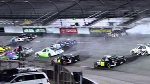 NASCAR Matt Kenseth into the wall   Richmond (2013)