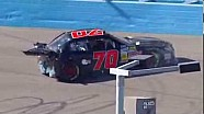 NASCAR Hard wreck for Derrike Cope in qualifying | Phoenix International Raceway (2013)