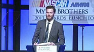 NASCAR | Dale Earnhardt Jr. accepts Most Popular Driver award (2013)