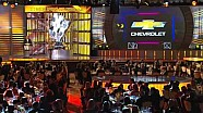 NASCAR | Mark Reuss accepts 2013 Manufacturer award (2013)