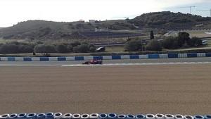 F1 Jerez 2014 - Kimi Raikkonen Testing Ferrari F14 T (Engine Sound)