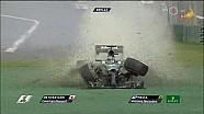Crash Felipe Massa & Kamui Kobayashi [F1 GP Australia 2014]