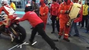Honda Racing: Slow mo pit stop