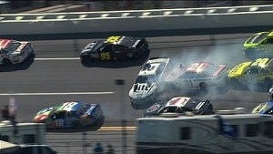 The Big One: Multi-car crash at Talladega