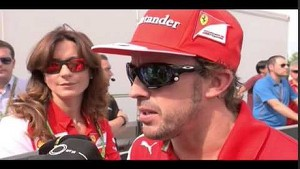 Fernando Alonso Post Race Interview -