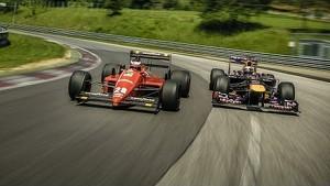 Sebastian Vettel and Gerhard Berger Trade Places (Red Bull Ring)