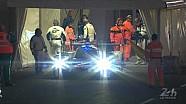 Le Mans 2014 - Inspection of the Porsche 919 Hybrid #14