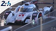 Le Mans 2014: LMP2 #29 crashes,  Audi #1 returns to pits
