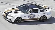 Graham Rahal Turns Laps At Bristol Motor Speedway - GoPro Footage
