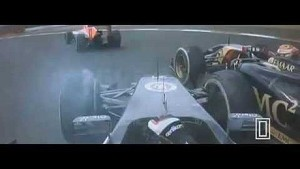 Maldonado goes airborne after contact with Gutiérrez