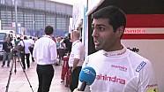 Formula E Beijing ePrix - Karun Chandhok interview