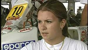 Danica Patrick Kartin at Age 15