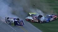 Massive last-lap wreck sees Paludo flip - 2013 Talladega
