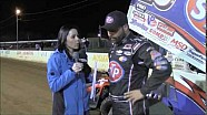 World of Outlaws STP Sprint Car Series Victory Lane from Port Royal Speedway