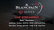 Blancpain Sprint Series - Baku - Main Race - Live Stream.