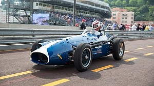 Frank Stippler driving the Maserati 250F