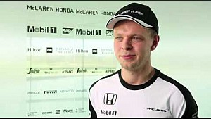 Interview with McLaren-Honda reserve driver, Kevin Magnussen