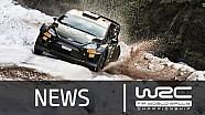 Rally Sweden 2015: Shakedown