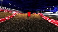 Sendero Cam Animated mapa del circuito - 2014 Daytona Supercross