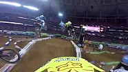 Helmet Cam with Jimmy Decotis Main Event Supercross Lites from Atlanta 2