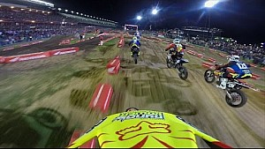 OnBoard with Jimmy Decotis at Daytona supercross Lites Main Event