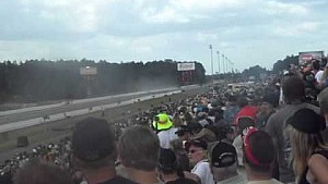 NHRA Gatornationals 2015 Larry Dixon accidente