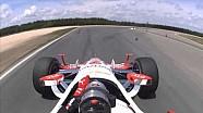 On Board : Juan Pablo Montoya au NOLA Motorsports Park