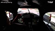 Kazuki Nakajima dans le simulateur Toyota avant Spa