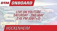 Pascal Wehrlein - Live Onboard (Race 1) - DTM Hockenheim 2015