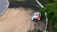 Bennani se estrella en los entrenamientos libres 1 en  Nordschleife