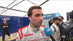 DHL Berlin ePrix - Jerome D'Ambrosio post-race interview