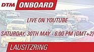 On Board LIVE - Edoardo Mortara - Lausitzring Course 1