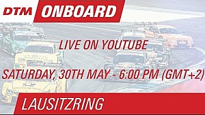On Board LIVE - Edoardo Mortara - Lausitzring Course 1