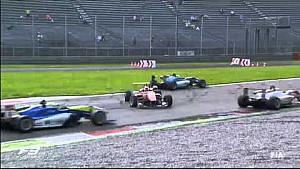 Переворот Микеле Беретты на гонке Ф3 в Монце