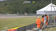 Gustavo Menezes gran accidente en Spa en la F3