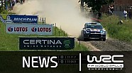 WRC - LOTOS 72nd Rally Poland 2015: Stages 9 - 13