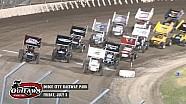 Highlights: World of Outlaws Sprint Cars Dodge City Raceway Park July 3rd, 2015