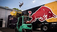 Du Parkour à l'usine Red Bull
