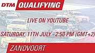 DTM Zandvoort 2015 - Qualifying (Race 1) - Live Stream