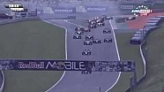 Huge crash at the start of the WSR Formula Renault 3.5 race