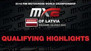 MXGP of Latvia MX2 Qualifying Race Highlights