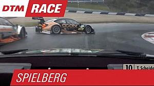 Polêmica entre Audi e Mercedes na última volta da etapa da Áustria do DTM