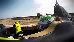 Nelson Piquet Jr acción pruebas de pretemporada